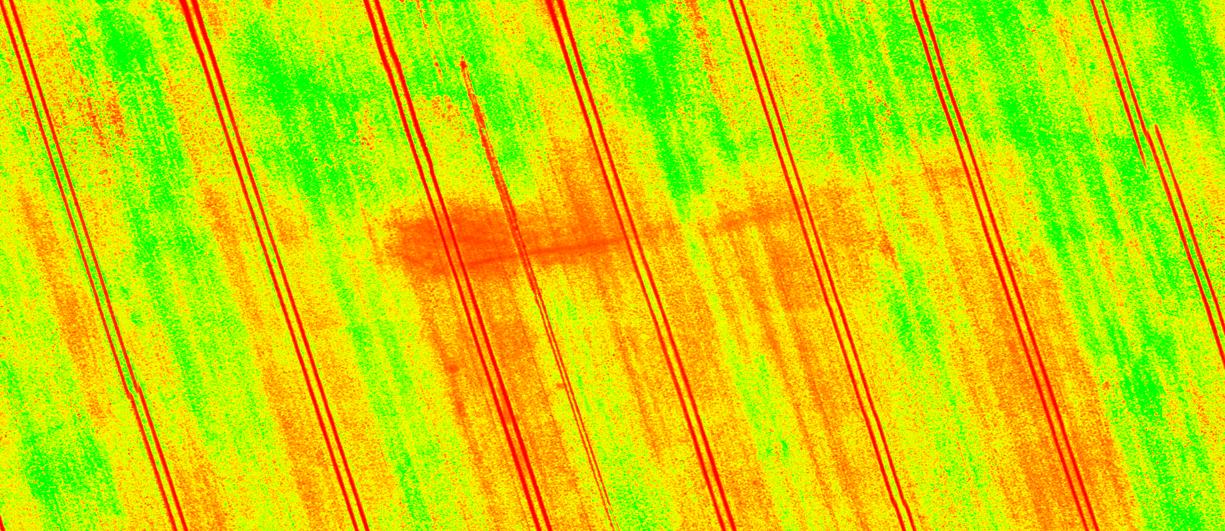 NDVI Multispectral imaging