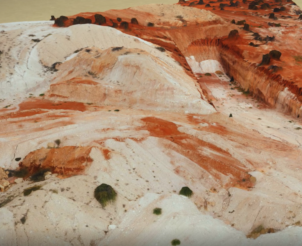Outback Mine Site 3D modelling