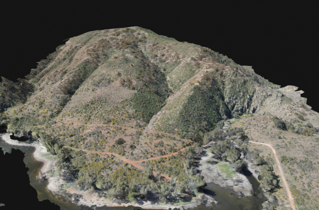 3D Topograpic modelling
